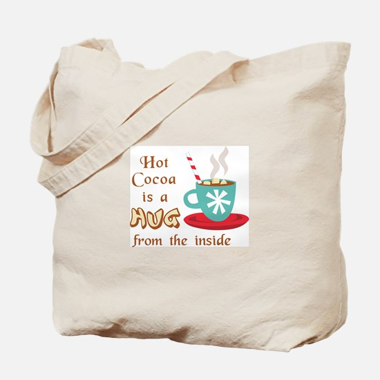 A HUG FROM THE INSIDE Tote Bag