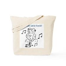 Scottish Girls Rock Tote Bag