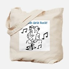 Scottish Girls Rock Tote Bag