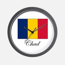 Chad - Flag Wall Clock