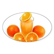 Orange juice Decal