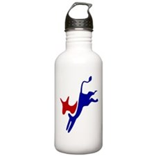 Bucking Democrat Donke Water Bottle