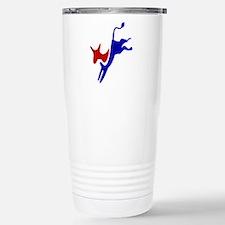 Bucking Democrat Donkey Stainless Steel Travel Mug