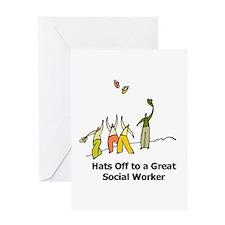 Cute Social work month Greeting Card