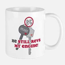 He Revs My Engine 25 Mug