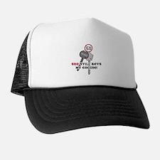 She Revs My Engine 50 Trucker Hat