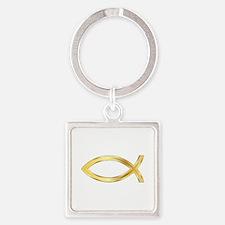 LARGE CHRISTIAN FISH Keychains