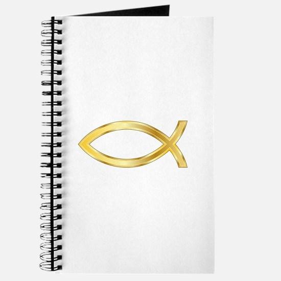 LARGE CHRISTIAN FISH Journal