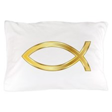LARGE CHRISTIAN FISH Pillow Case