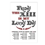 Friday the 13th Postcards (Package of 8)