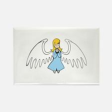ANGEL PRAYING Magnets