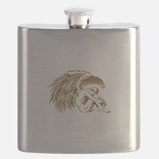 MALE ANGEL Flask