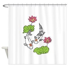 JAPANESE KOI Shower Curtain