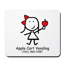 Apple - Cart Vending Mousepad