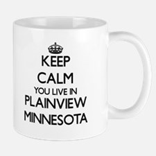 Keep calm you live in Plainview Minnesota Mugs