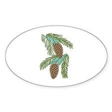 PINE CONES Decal