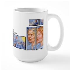 Index Portfolio Mug- 30 PALE BLUE