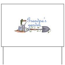 Grandpas Garden Yard Sign