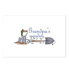 Grandpas Garden Postcards (Package of 8)