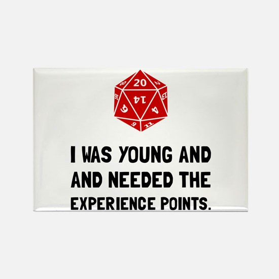 Experience Points Magnets