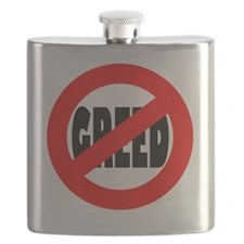 Stop Greed Flask