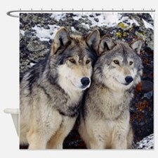 Wolves Shower Curtain