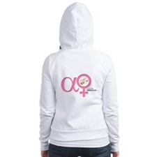 Alpha Female Fitted Hoodie