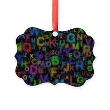 Alphabet Colours Ornament