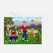 Frustrated Golfers Cartoon Cards (Pk of 10)