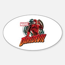 Daredevil 2 Sticker (Oval)
