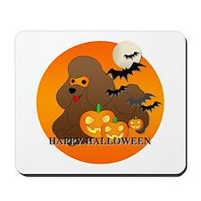 Brown Poodle Mousepad