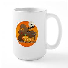 Brown Poodle Mug