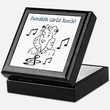 Swedish Girls Rock Keepsake Box