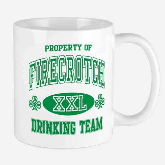 Firecrotch Irish Drinking Team Mugs