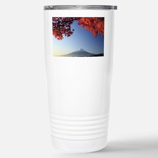Mt Fuji  Stainless Steel Travel Mug