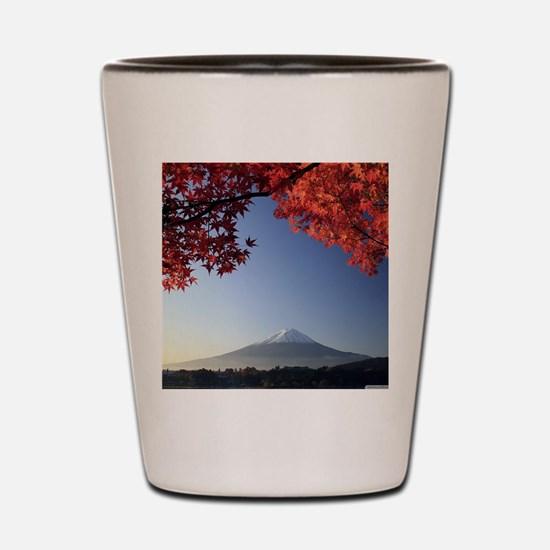 Mt Fuji  Shot Glass
