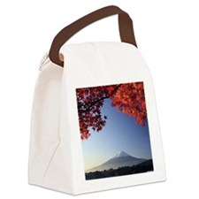 Mt Fuji  Canvas Lunch Bag