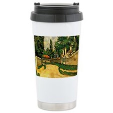 Cezanne - House along a Travel Mug