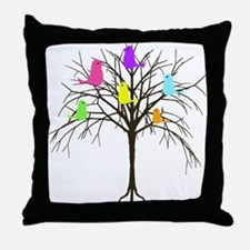 Hanging With My Peeps Throw Pillow