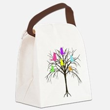 Hanging With My Peeps Canvas Lunch Bag