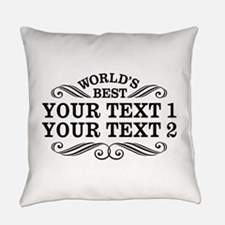 Universal Gift Personalized Everyday Pillow