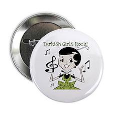 "Turkish Girls Rock 2.25"" Button (100 pack)"