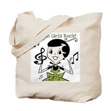 Turkish Girls Rock Tote Bag