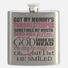 Mommy's Tongue & Temper Flask