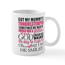 Mommy's Tongue & Temper Mugs