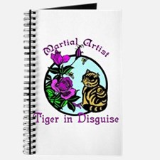 Martial Artist Tiger in Disguise Journal