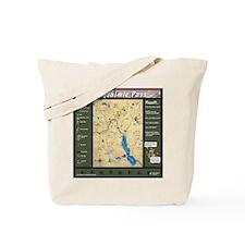 Snoqualmie Pass Mapdana Tote Bag