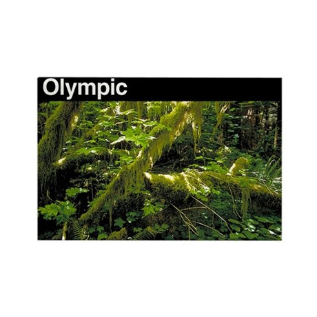 Olympic NP Rectangle Magnet (100 pack)