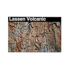 Lassen Volcanic NP Rectangle Magnet (100 pack)