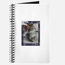 Funny Siberian cat Journal